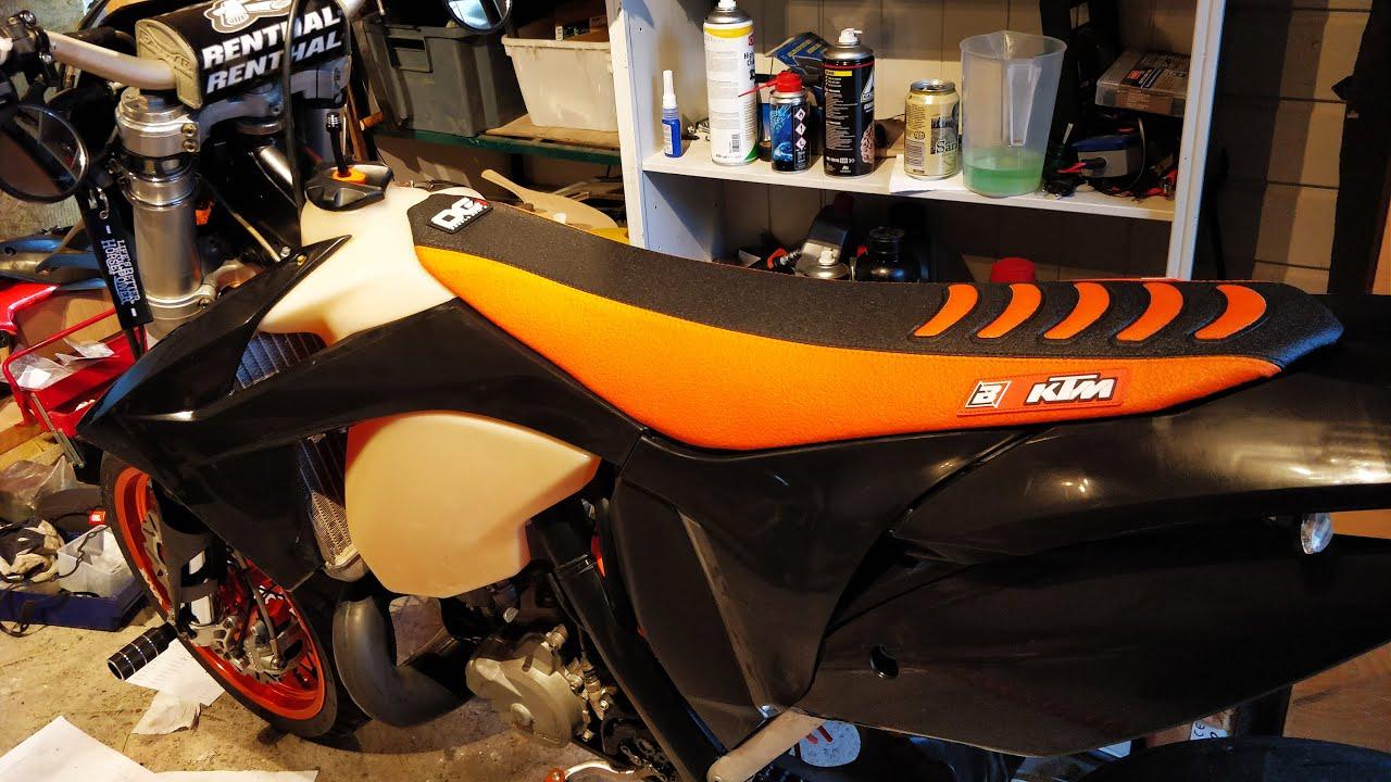 KTM EXC 250 Penkinpäällisen Vaihto | Tallihommia