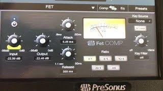 FET Compressor | Presonus StudioLive 24 Series III