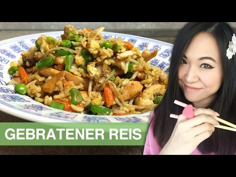 Rezept gebratener reis mit h hnchen chinesisch kochen for Chinesisch kochen