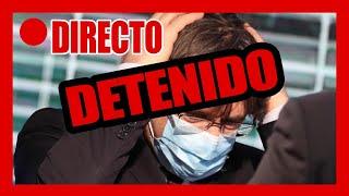 CARLES PUIGDEMONT DETENIDO en CERDEÑA