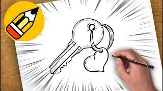 كيفية رسم القلب مع المفتاح Youtube