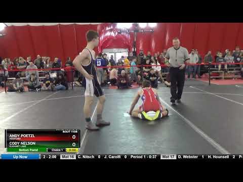 Junior 145 Andy Poetzl Medford Vs Cody Nelson Elkhart Lake