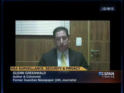 No Place to Hide: Glenn Greenwald on NSA Surveillance, Secur