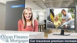 Car insurance premium increase