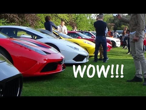 CARS AND COFFEE ITALY BRESCIA 2016 - PART 1
