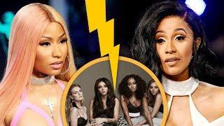 Little Mix se pone del lado de Nicki Minaj en su contienda contra Cardi B