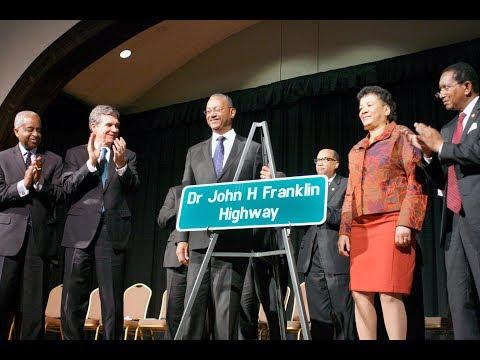 Dr. John H. Franklin Highway Dedication 11-27-17