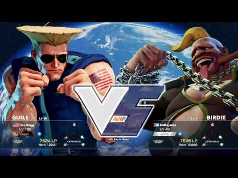 STREET FIGHTER V SET – DeeDogg Vs PG | Coachsteve