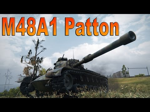 World of Tanks - M48A1 Patton - Jack of all Trades