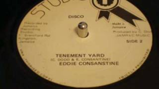 "Team USA Team Clash Response # 8 Eddie Consanstine Tenement Yard 12"" Studio One Discomix DJ APR"