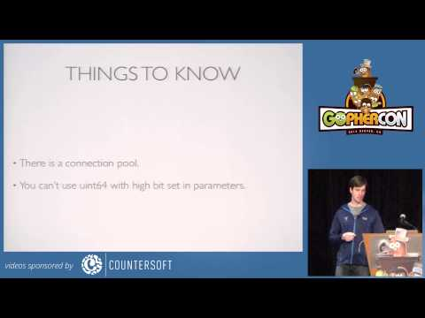GopherCon 2014 Building Database Applications with Database/SQL by Baron Schwartz