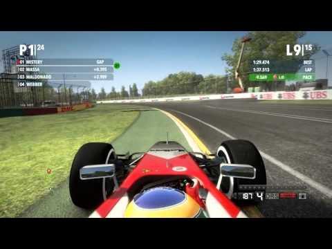 F1 2012 Australia Gp Race Legend McLaren