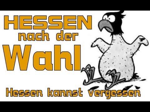 Hessen nach der Wahl - Ergebnis - Hochrechnung - Grüne CDU ?