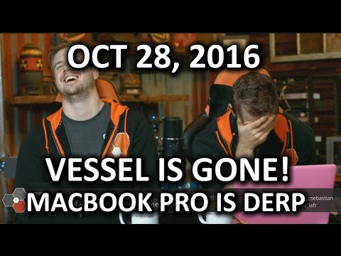 The WAN Show - Vessel is GONE, Vine is GONE, Macbook Pro is Derp! - October 28, 2016