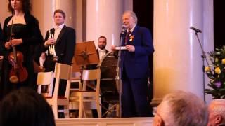 Слова благодарности лауреата Нобелевской премии Жореса Алфёрова на вечере в честь своего 85-летия