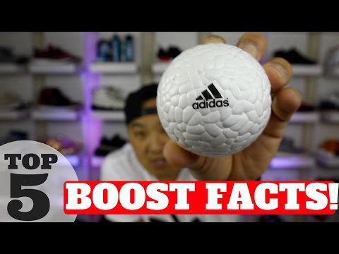 TOP 5 FACTS ABOUT ADIDAS BOOST!!