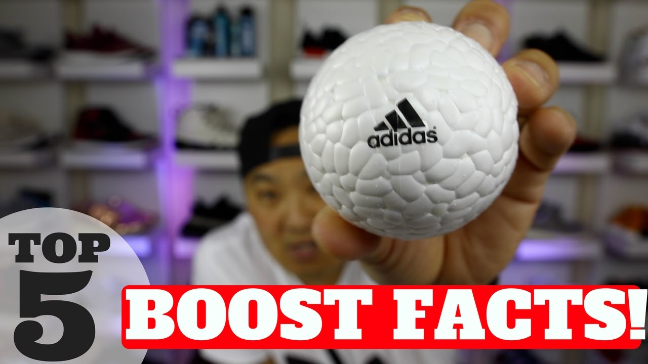 02bf56b3b7e24 'WHAT IS ADIDAS BOOST'? TOP 5 FACTS ABOUT ADIDAS BOOST!!