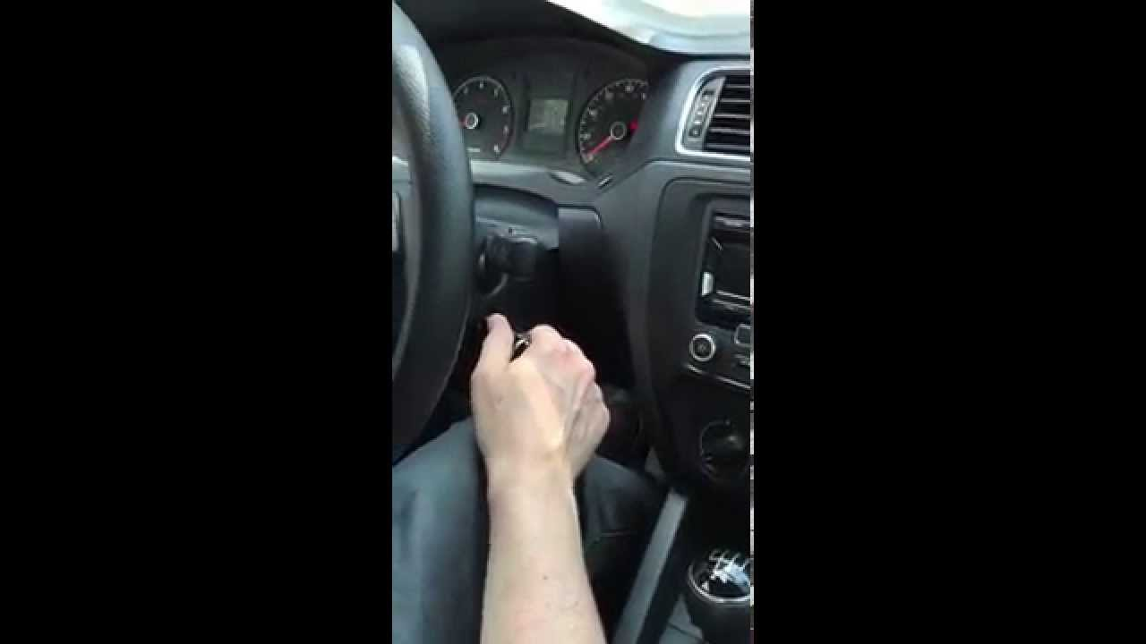 Key Stuck In Ignition Of Jetta