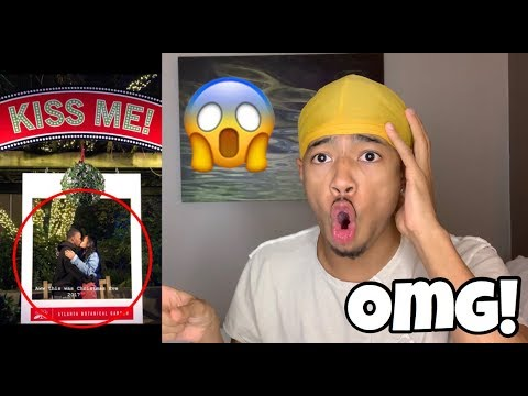REACTING TO PHOTOS OF MY LITTLE SITER & HER BOYFRIEND! (GETS VERY UPSET) | VLOGMAS