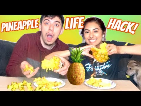 can-you-pull-apart-a-pineapple??!-viral-pineapple-hack!!!!