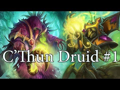 Hearthstone C'Thun Druid S27 #1: Simply Waiting