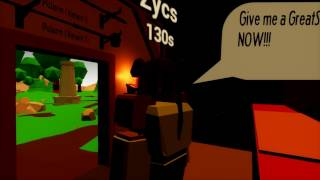 Is this made in Roblox? - Blacksmith shop