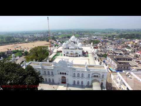 ANANDPUR SAHIB ( TAKH SRI KESHGARH SAHIB ) AERIAL 4K VIDEO