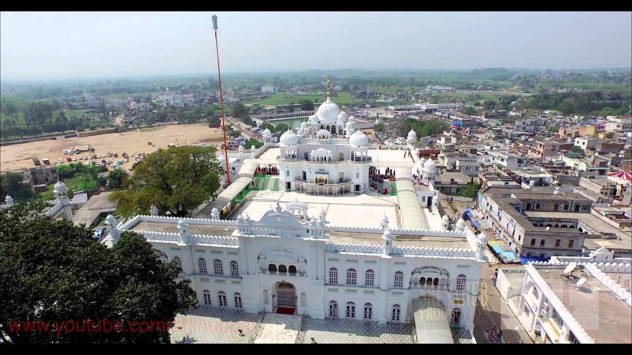 Anandpur Sahib Takh Sri Keshgarh Sahib Aerial 4k Video Youtube