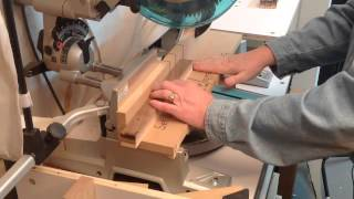 Tornado Globe Part 2: Cutting Segments On The Miter Saw