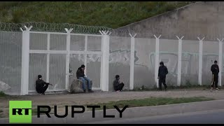 France: Protesters call for army and enforcement of curfew against refugees