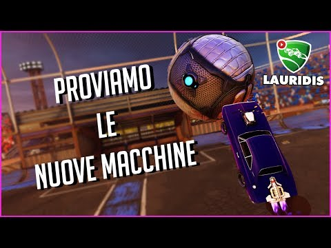 NISSAN SKYLINE E DODGE CHARGER - Rocket League ITA (Lauridis)