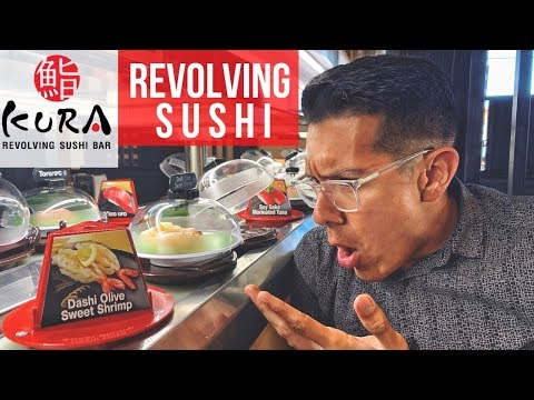 KURA Revolving Sushi   MUST TRY