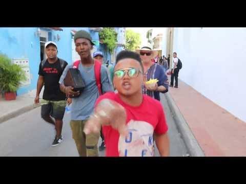 Colombian street rapper Yorday Martinez takeover in Cartagena