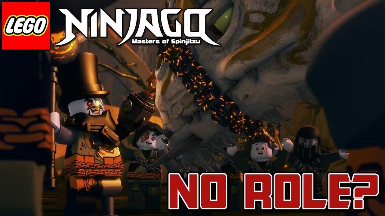 Ninjago: Season 9: Iron Baron Is NOT Important? (Ninjago: Hunted) - YouTube