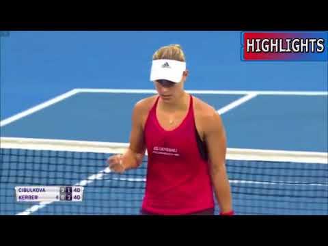 Sydney 2018 - Dominika Cibulkova vs Angelique Kerber - Full Highlights HD