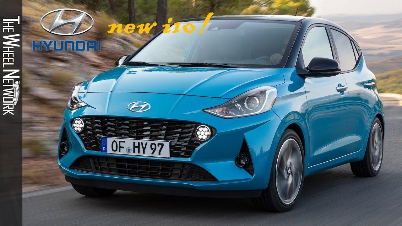 2020 Hyundai I10 Aqua Turquoise Driving Interior Exterior