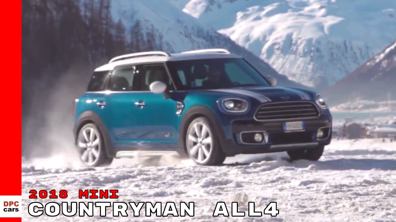 2018 Mini Countryman All4 Experience Snow Ice Driving