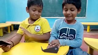 kidzee preschool thirunagar madurai Cute and easy paper craft for kids
