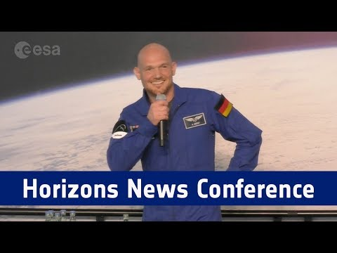 Horizons News Conference - 17 April 2018