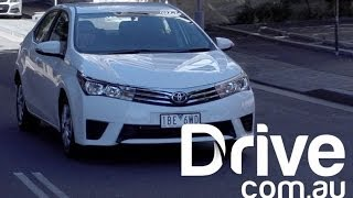 Toyota Corolla sedan 2014 Video Review | Drive.com.au