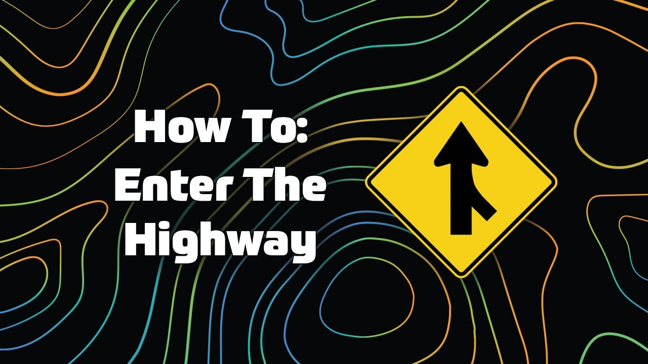 Image result for how to enter a highway