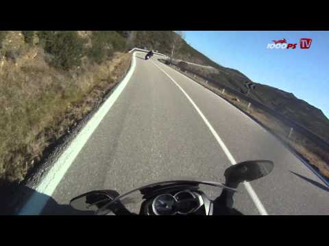 BMW Scooter C 600 Sport Onboard - Going fast!