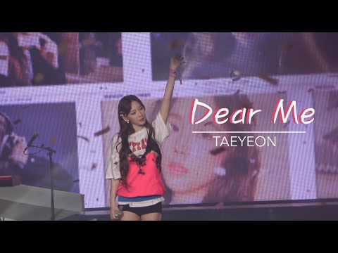 Taeyeon - Dear Me + Ending - The Unseen Concert In Seoul Day 1 (200117)