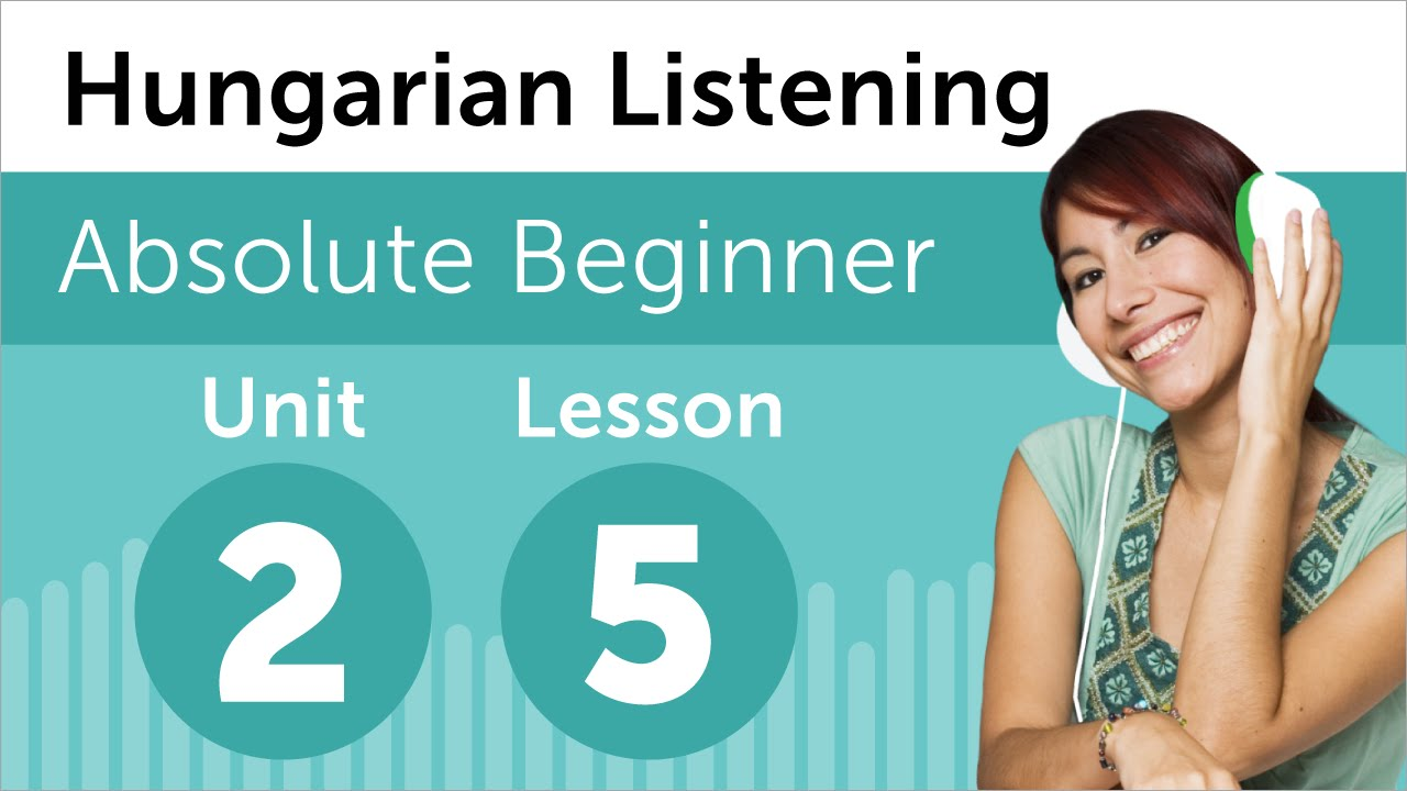 Hungarian Listening Practice - Making Plans for the Day in Hungarian