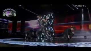 S4 - She Is My Girl at Anugerah Planet Muzik Singapore 2013 with Lyrics