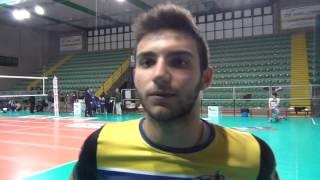 20-11-2016: #A2MVolley Damiano Catania, il più giovane della A, post Mater-Montrcchio 3-2