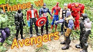 Thanos vs Avengers + Spiderman - Hulk, Thor, Black Panther, Iron Man Full Fight! Part 3