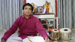 Shankar Krishnan performing Maasaru ponne varuga on the auspicious occasion of Navarathri