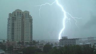 Severe Thunderstorms Intense Lightning- Ft. Lauderdale, FL 8.3.12