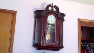 Rare D&a Curio Cabinet Wall Clock